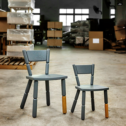 Freshwest Lazy Chairs with Factory Backdrop